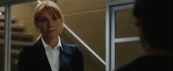 Gwyneth paltrow iron man 3 white suit