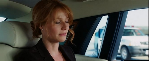 Gwyneth Paltrow wallpaper possibly with an automobile called Iron Man Screencaps