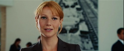 Gwyneth Paltrow wallpaper with a business suit, a well dressed person, and a portrait entitled Iron Man Screencaps