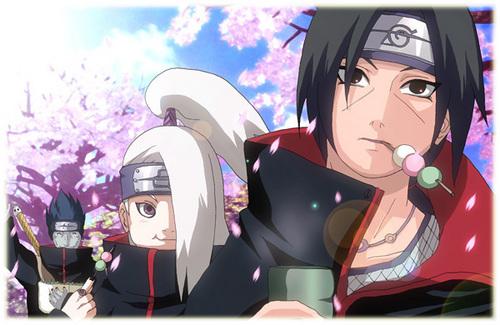 Itachi, Deidara and Kisame