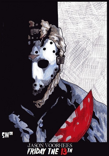 Horror legends fondo de pantalla titled Jason Voorhees