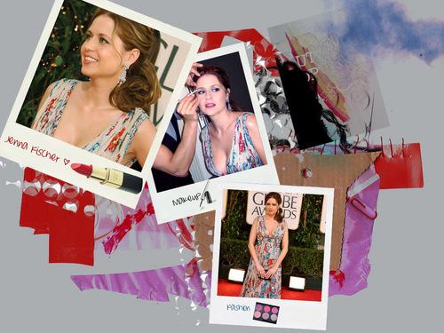 Jenna @ Golden Globes