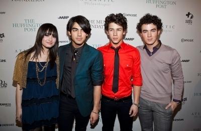 Jonas Brothers The Huffington Post Pre-Inaugural Ball in Washington