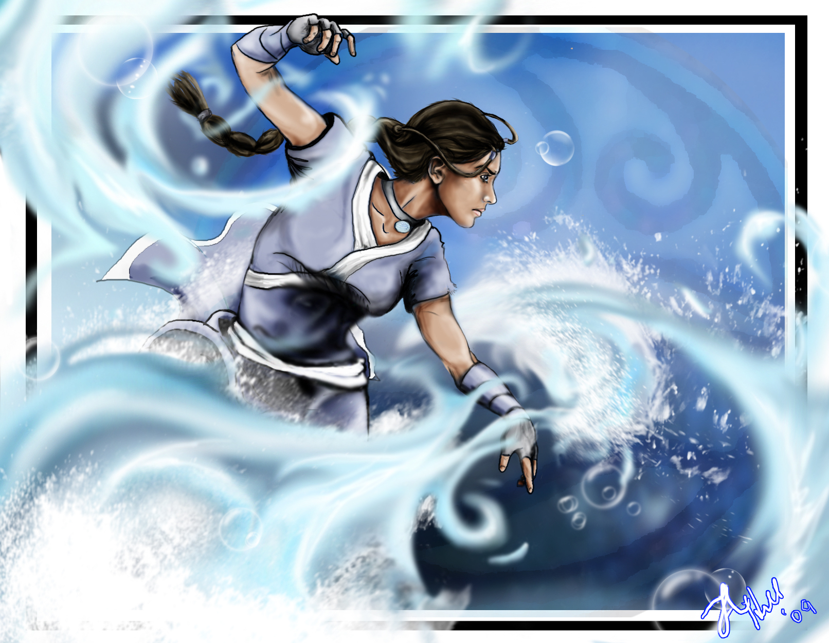 Avatar Katara by ~ala on