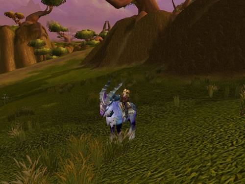 Kozette gets her Cobalt Talbuk Mount - world-of-warcraft Photo