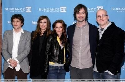 Kristen @ Sundance - 'Adventureland' premiere