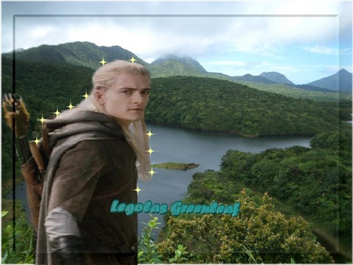 Legolas-freshwater lake - legolas-greenleaf Wallpaper