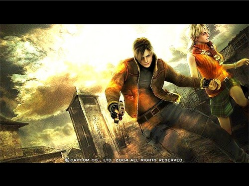 Leon Kennedy 바탕화면 containing 아니메 called Leon Scott Kennedy