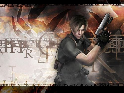 Leon Kennedy 바탕화면 probably containing a sign called Leon Scott Kennedy