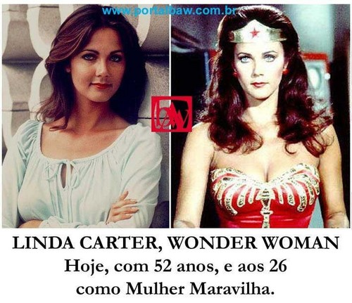 ワンダーウーマン 壁紙 with a portrait entitled Linda Carter And Wonder Woman