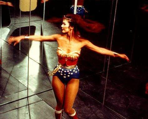 Wonder Woman wallpaper possibly with skin entitled Linda Carter