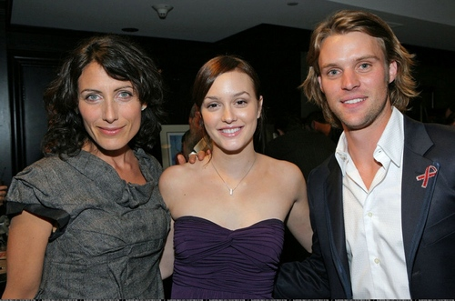 Lisa and Jesse with Leighton Meester