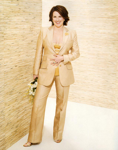 Megan Mullally Instyle Magazine Pictures
