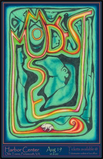 Modest Mouse Posters