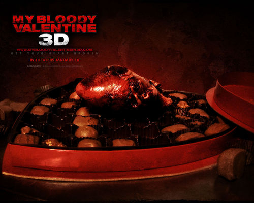 My Bloody Valentine 3D wallpaper probably containing a barbecue entitled My Bloody Valentine 3-D