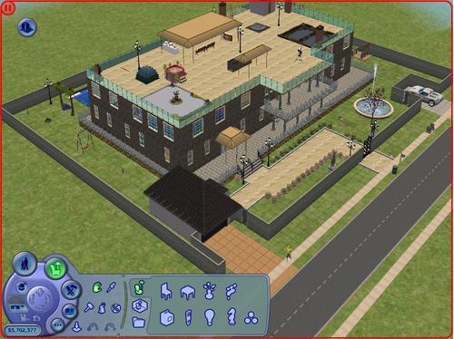 My sims 2 house