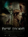 New Moon Poster [With Jacob] - twilight-series fan art