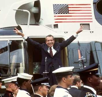Nixon Departing