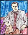 Nixon Drawing - richard-nixon fan art