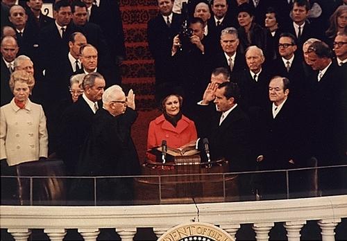 Nixon Inauguration in 1969