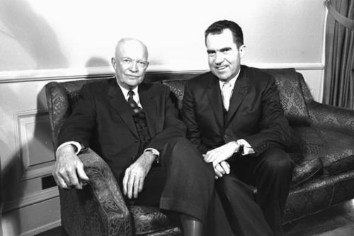 Nixon and Eisenhower
