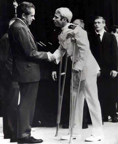 Nixon and John McCain