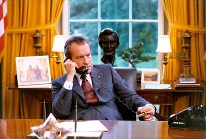 Nixon in the Oval Office