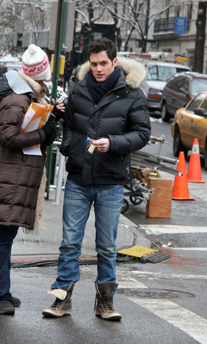 On the set (January 19)