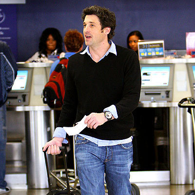 Patrick at The Airport
