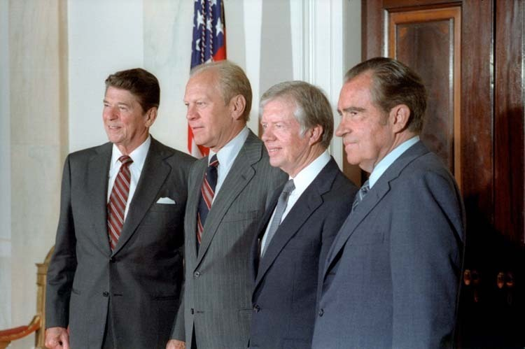 """nixon vs carter Americans """"have an energy crisis,"""" nixon said in a televised address  but in  1976, jimmy carter came into office determined to end the crisis."""