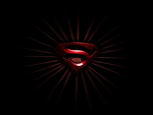 Superman wallpaper titled Red Symbol