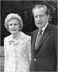 Richard and Pat Nixon