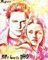 Rob & Kristen - robert-pattinson-and-kristen-stewart fan art
