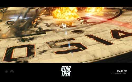 Star Trek (2009) wallpaper containing a television receiver titled Star Trek