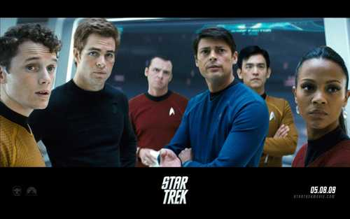 Star Trek (2009) wallpaper possibly containing a television receiver called Star Trek