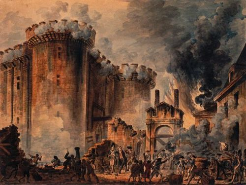 Storming of the Bastille - history Photo