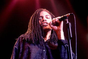 80's music wallpaper with a concert and a guitarist entitled Terence Trent D'Arby