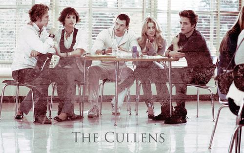 The Cullens - twilight-series Wallpaper