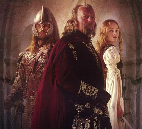 Theoden, Eowyn, and Eomer