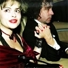 Helena Bonham Carter/Tim Burton photo containing a portrait entitled Tim & Helena