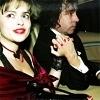 Helena Bonham Carter/Tim Burton photo with a portrait entitled Tim & Helena