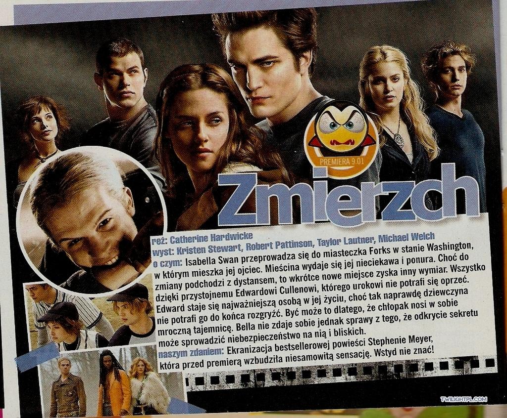 "Twilight in ""Popcorn"" 2009 (Poland)"