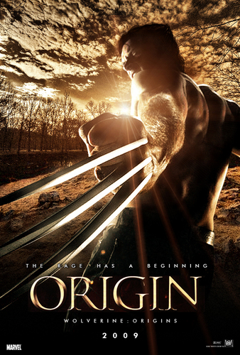 X Men Origins Wolverine Wallpaper Titled Film Poster