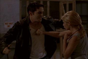 Xander and Buffy