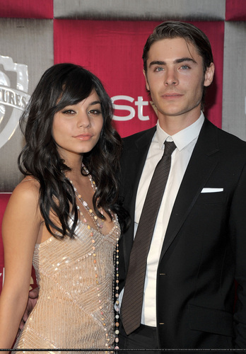 Zanessa at InStyle & Warner Bros Golden Globe After-Party