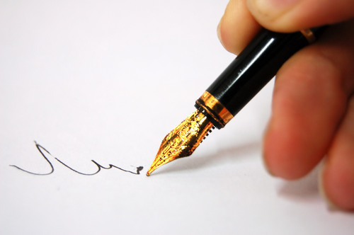 a thoughtfull pen