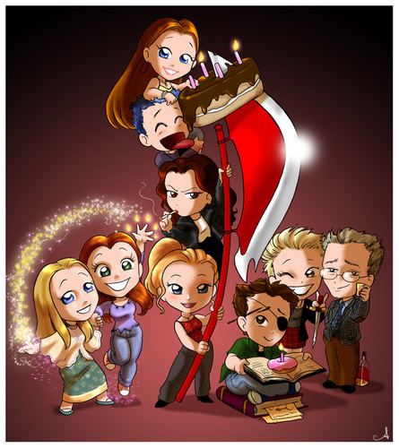 Buffy the Vampire Slayer achtergrond probably with anime called buffy