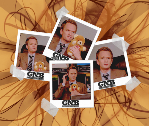 feely the shear bear - barney-stinson Photo