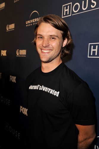 jesse spencer @ 100th episode house party