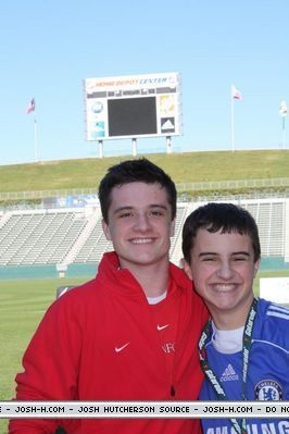 josh and his brother